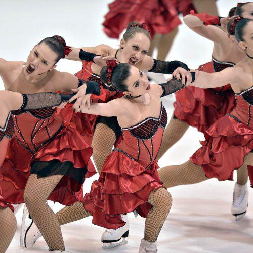 patinage artistique centre de foire les supremes equipe du Quebec categorie Senior