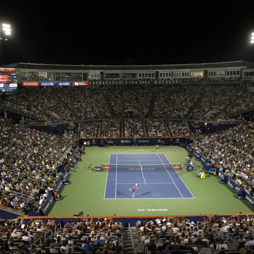 Tennis canada ambiance stade