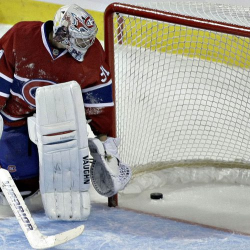 lightning tampa bay vs canadiens de montreal Carey Price apres le but de Malone