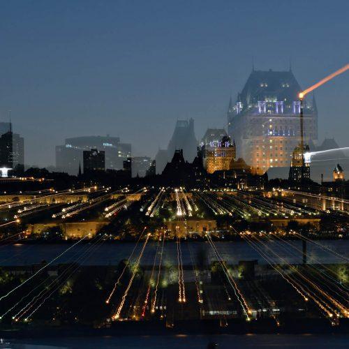 Québec effets de lumières