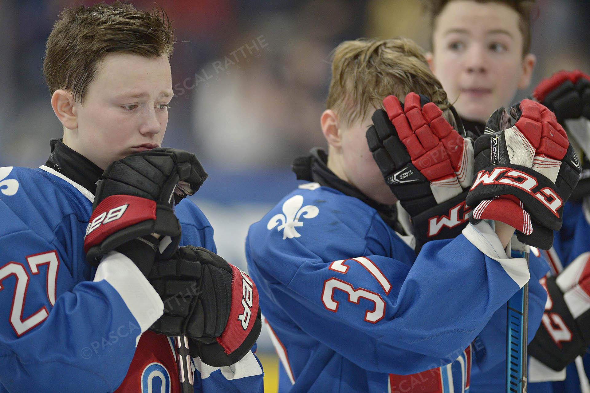 tournoi d'hockey pee wee 2019 la défaite des nordiques de québec vs pionniers de lanaudière