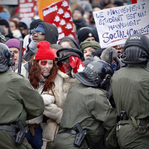 La grève étudiante québécoise de 2012 désigne l'ensemble des événements, mouvement sociaux et perturbations induits par une grève étudiante générale et illimitée dans certains établissements d'enseignement supérieur québécois