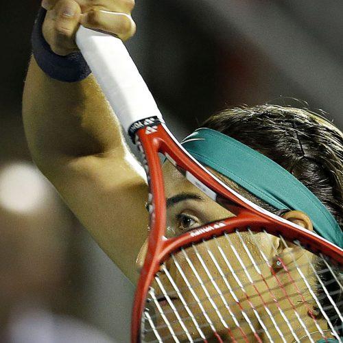 caroline garcia au tournoi de tennis de la coupe rogers