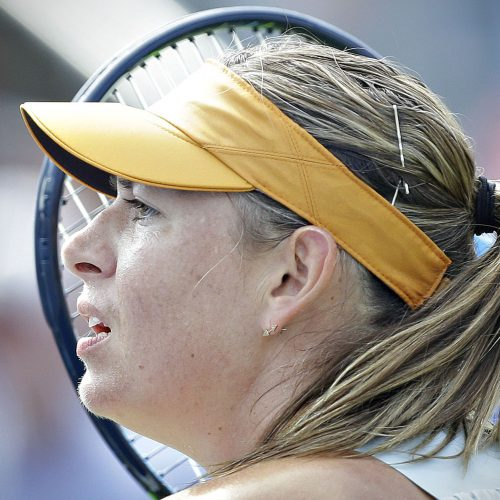 maria sharapova au tournoi de tennis de la couperogers