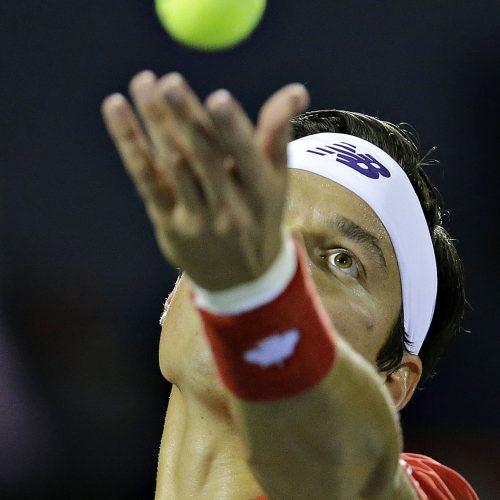 Milos Raonic de tennis canada a la coupe rogers 2017