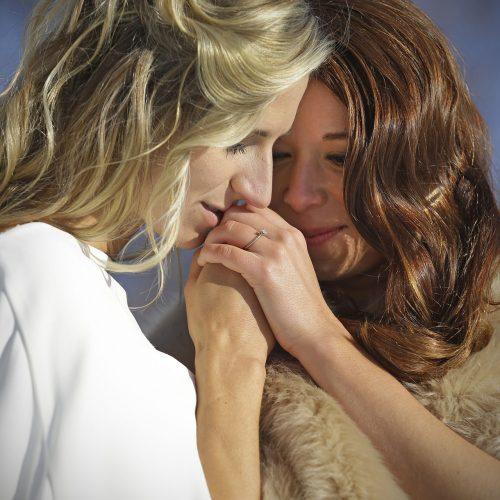 mariage entre 2 femmes passion
