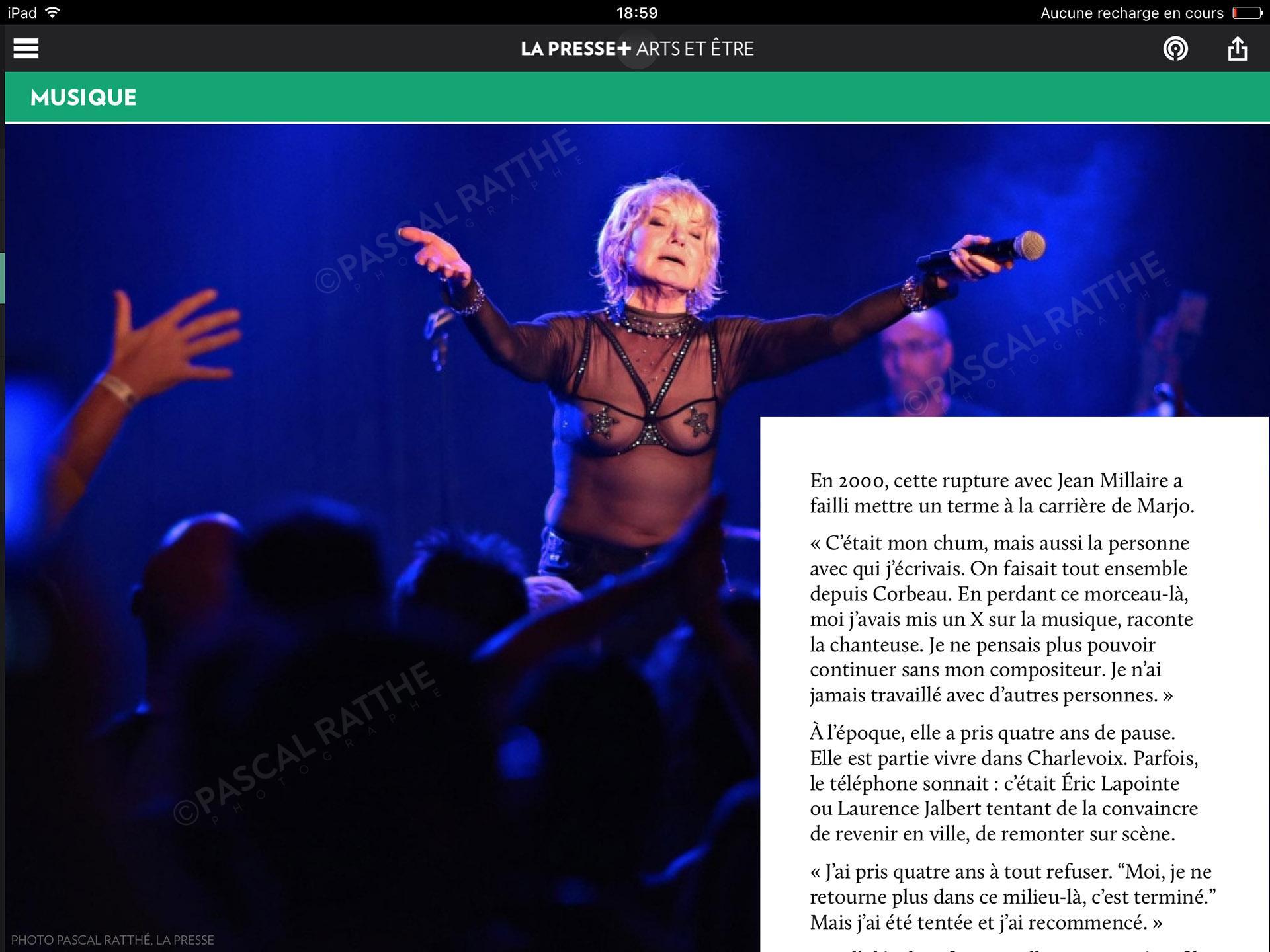 Marjolaine Morin, MARJO en spectacle au bar l'anti une rokeuse au grand coeur